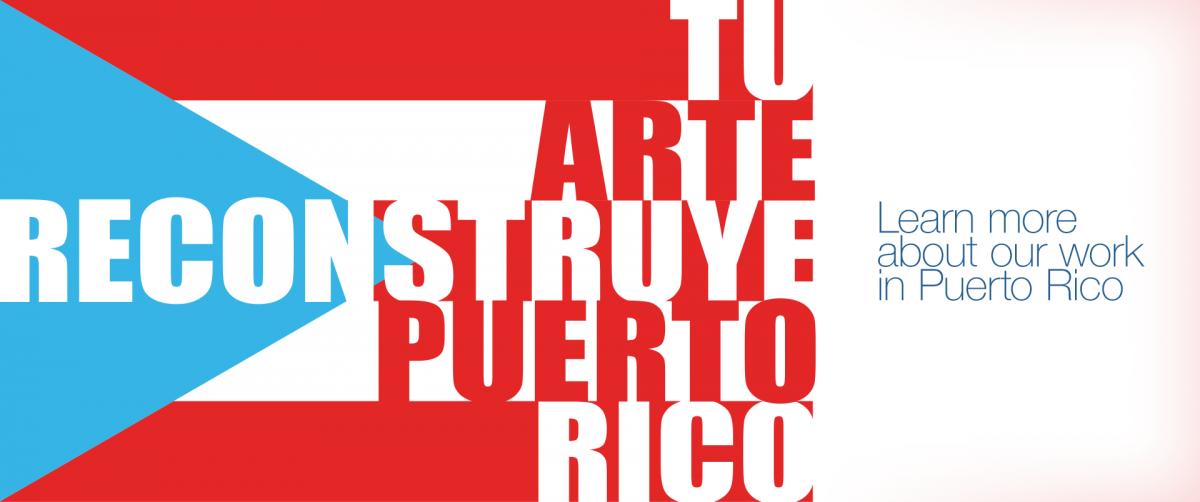 Tu Arte Reconstruye Puerto Rico