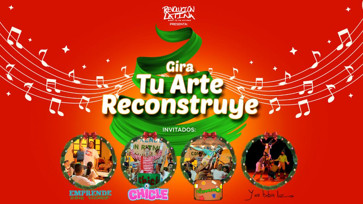 Tu Arte Reconstruye Tour Orocovis PR