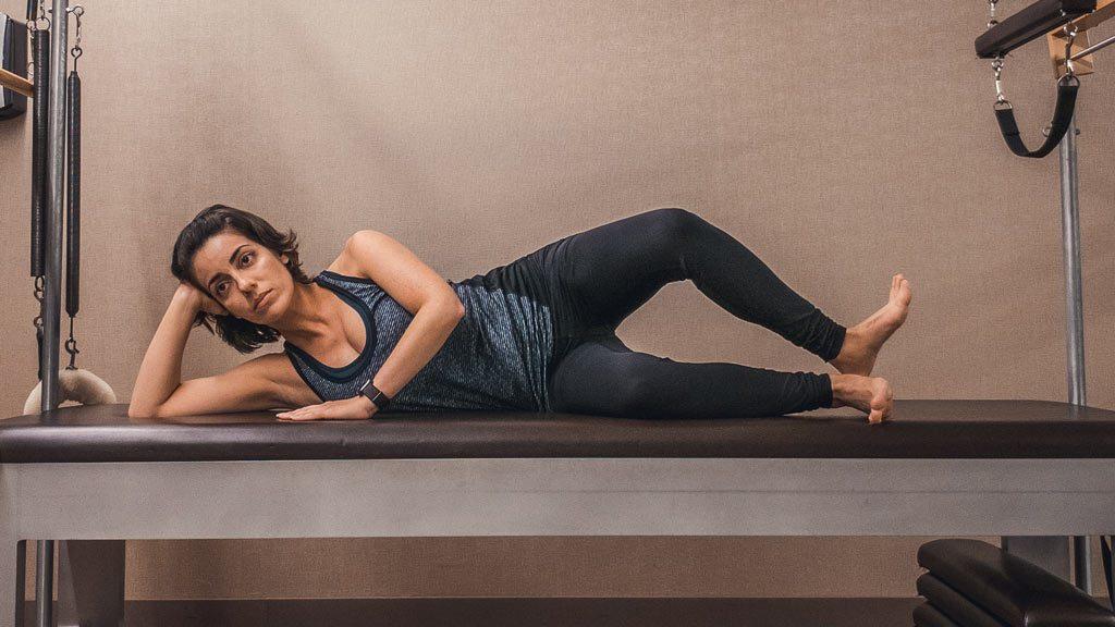 Balance - Clam - rotate top leg